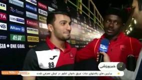 حواشی بازی پرسپولیس 2 1 الجزیره امارات