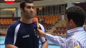 آخرین تمرین تیم ملی کشتی آزاد پیش از شرکت در جهانی مجارستان ( NAVAD 90 TV Channel )