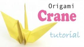 آموزش اوریگامی پرنده-ویدیو اوریگامی 57