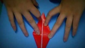 آموزش اوریگامی پرنده-ویدیو اوریگامی 58