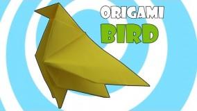 آموزش اوریگامی پرنده-ویدیو اوریگامی 85