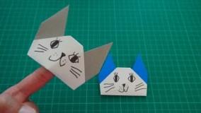 آموزش اوریگامی حیوانات-آموزش اوریگامی ساده برای کودکان قسمت 26