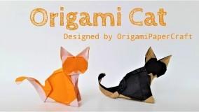 آموزش اوریگامی حیوانات-آموزش اوریگامی ساده برای کودکان قسمت 4