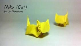 آموزش اوریگامی حیوانات-آموزش اوریگامی ساده برای کودکان قسمت 28