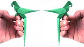 آموزش اوریگامی حیوانات-آموزش ساخت اوریگامی 3 بعدی قسمت 40