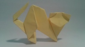 آموزش اوریگامی حیوانات-آموزش اوریگامی ساده برای کودکان قسمت 8