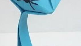آموزش اوریگامی حیوانات-آموزش اوریگامی ساده برای کودکان قسمت 24