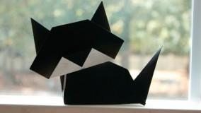 آموزش اوریگامی حیوانات-آموزش اوریگامی ساده برای کودکان قسمت 27