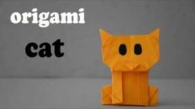 آموزش اوریگامی حیوانات-آموزش اوریگامی ساده برای کودکان قسمت 29
