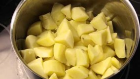 آشپزی آسان-تهیه بهترین پوره سیب زمینی
