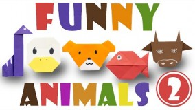 آموزش اوریگامی حیوانات-آموزش ساخت اوریگامی 3 بعدی قسمت 47