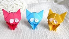 آموزش اوریگامی حیوانات-آموزش اوریگامی ساده برای کودکان قسمت 34