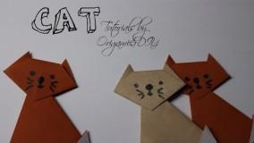 آموزش اوریگامی حیوانات-آموزش اوریگامی ساده برای کودکان قسمت 7