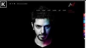 طراحی سایت شخصی امیر علی بهادری3