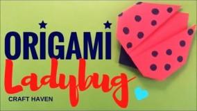 آموزش اوریگامی حیوانات-آموزش ساخت اوریگامی 3 بعدی قسمت 56