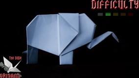 آموزش اوریگامی حیوانات سه بعدی-ویدیو های اوریگامی قسمت 87