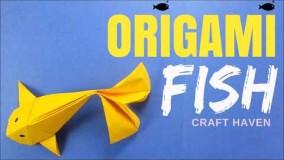 آموزش اوریگامی حیوانات-آموزش اوریگامی 3d قسمت 78