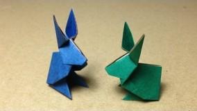 آموزش اوریگامی حیوانات سه بعدی-ویدیو های اوریگامی قسمت 80