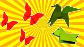 آموزش اوریگامی حیوانات سه بعدی-ویدیو های اوریگامی قسمت 89