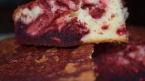 کیک پزی--تهیه کیک رد ولوت آسان