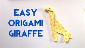 آموزش اوریگامی حیوانات سه بعدی-ویدیو های اوریگامی قسمت 93