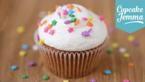 کیک پزی--تهیه کاپ کیک وانیلی