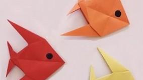 آموزش اوریگامی حیوانات سه بعدی-ویدیو های اوریگامی قسمت 98