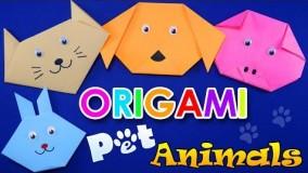 آموزش اوریگامی حیوانات-آموزش اوریگامی 3d قسمت 79