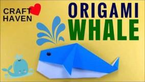 آموزش اوریگامی حیوانات سه بعدی-ویدیو های اوریگامی قسمت 94