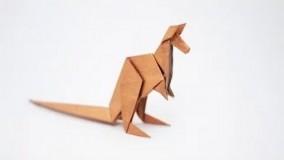 آموزش اوریگامی حیوانات-آموزش اوریگامی 3d قسمت 75