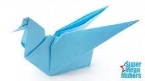 آموزش اوریگامی حیوانات سه بعدی-ویدیو های اوریگامی قسمت 97