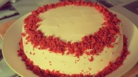 کیک پزی--تهیه کیک رد ولوت لذیذ