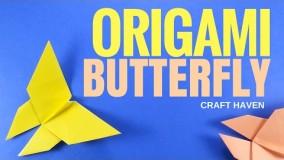 آموزش اوریگامی حیوانات سه بعدی-ویدیو های اوریگامی قسمت 91