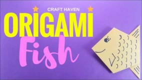 آموزش اوریگامی حیوانات-آموزش ساخت اوریگامی 3 بعدی قسمت 53
