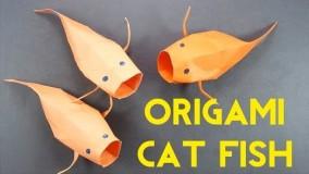 آموزش اوریگامی حیوانات-آموزش اوریگامی 3d قسمت 65
