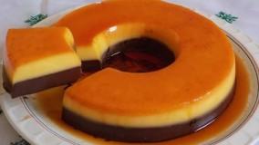 کیک پزی-تهیه فلن کیک- بدون فر