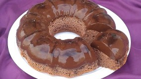 کیک پزی-تهیه فلن کیک