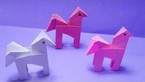 آموزش اوریگامی حیوانات سه بعدی-ویدیو های اوریگامی قسمت 92