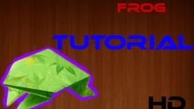 آموزش اوریگامی های جالب اموزش اوریگامی قورباغه 5