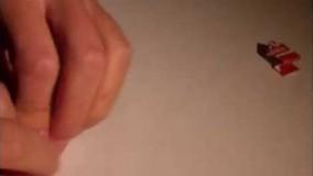 آموزش اوریگامی های جالب اموزش اوریگامی قورباغه 9