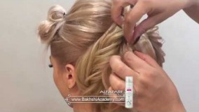 37آموزش رایگان طراحی مو از آکادمی بخشی۲