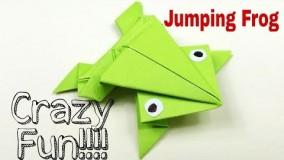 آموزش اوریگامی های جالب اموزش اوریگامی قورباغه 2