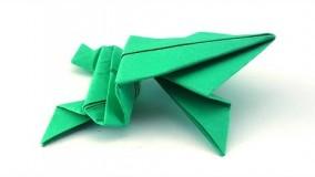 اموزش اوریگامی قورباغه-ویدیو های اوریگامی 7