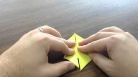 آموزش اوریگامی قورباغه-18