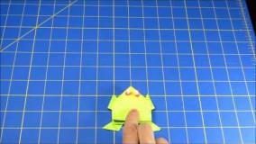 آموزش اوریگامی قورباغه-20