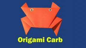 آموزش اوریگامی حیوانات سه بعدی اموزش اوریگامی قورباغه 8