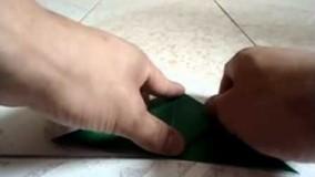 آموزش اوریگامی های جالب اموزش اوریگامی قورباغه 6