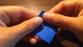 آموزش اوریگامی حیوانات سه بعدی اموزش اوریگامی قورباغه 15