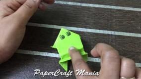 اموزش اوریگامی قورباغه-ویدیو های اوریگامی 40