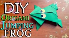 اموزش اوریگامی قورباغه-ویدیو های اوریگامی 5